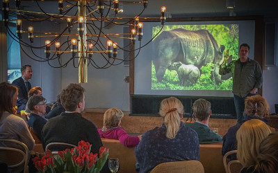 Wildhood event with IAPF founder Damien Mander